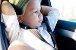 Amenda pentru soferii care nu transporta copiii in scaune speciale sau cu centura